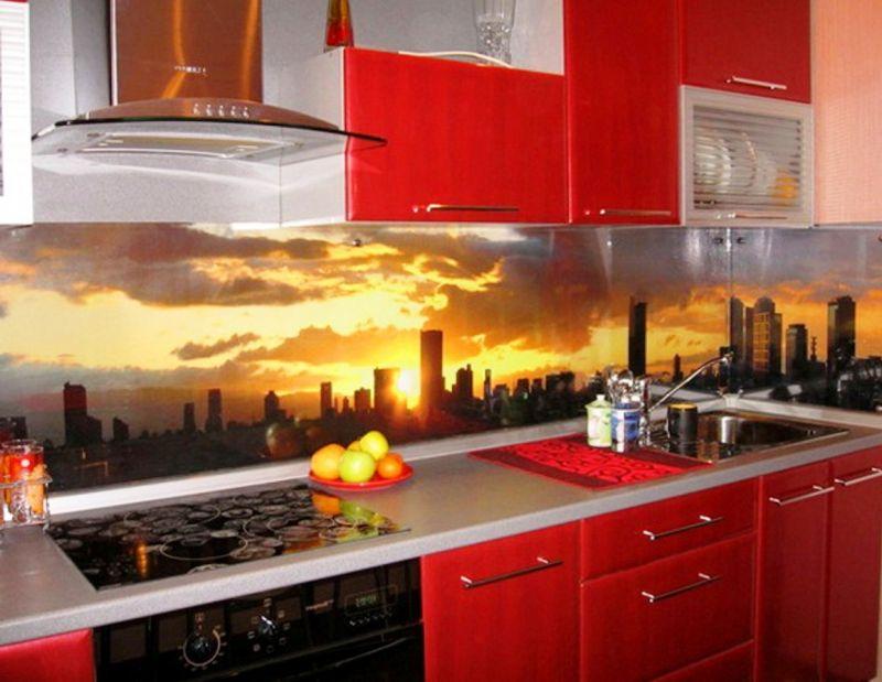 стеклянные кухонные фартуки изделия из стекла в саратове