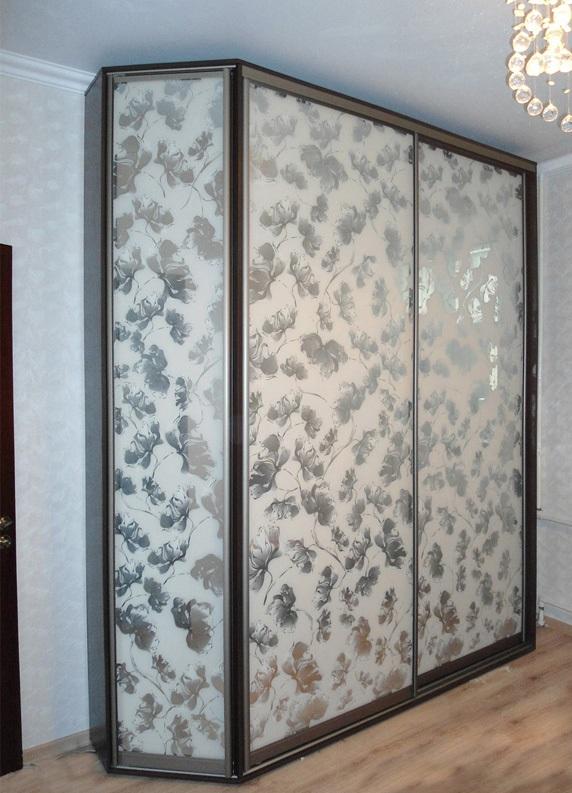 Зеркало узорчатое для шкафов купе - изделия из стекла в сара.
